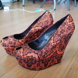 Hot Platform Wedges - perfect for a night out!